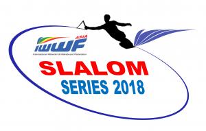IWWF Asia Slalom Series Logo